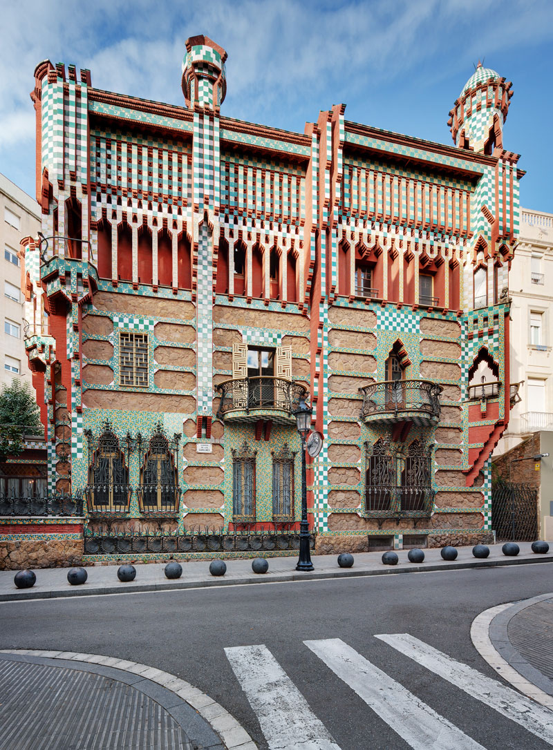 The First House Gaudi Ever Designed Just Opened to the Public After 130 Years; Twisted Sifter